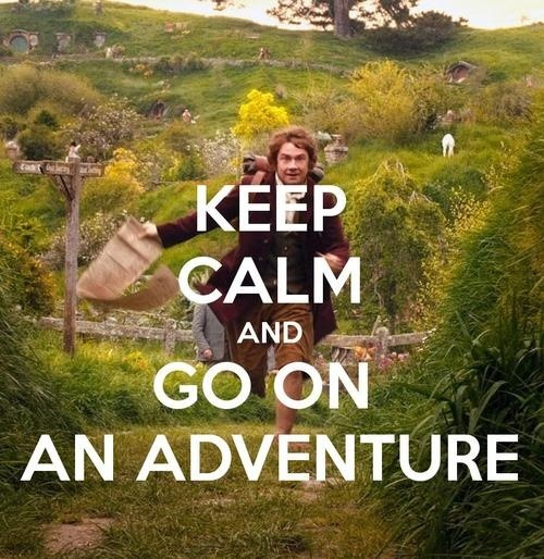 Go on an adventure_Hobbit